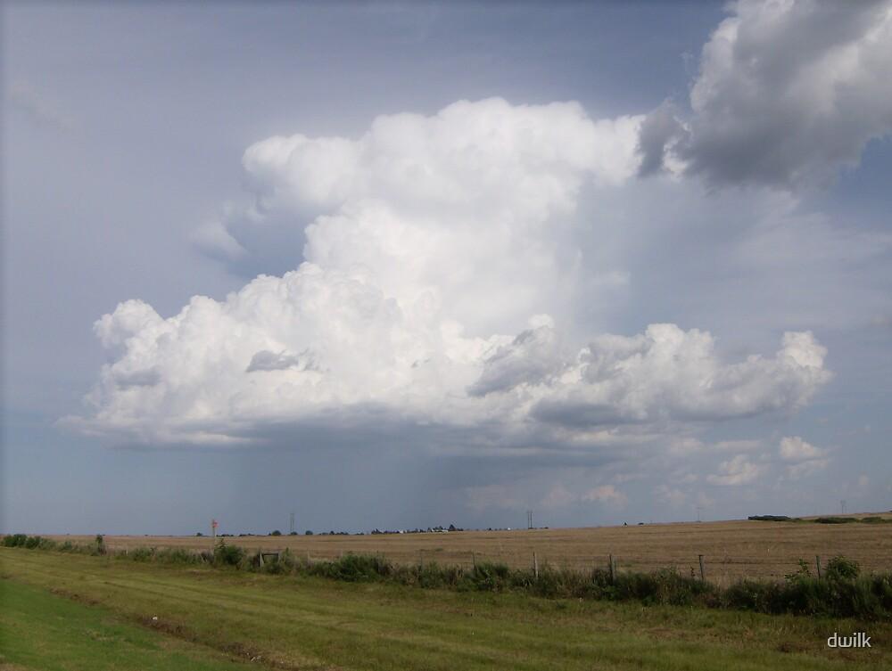 Tall rain cloud by dwilk