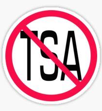 Anti TSA Sticker