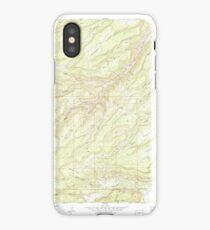 USGS TOPO Map Colorado CO Escalante Forks 232961 1973 24000 iPhone Case/Skin