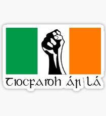 Irish Republican design in Gaeilge Sticker