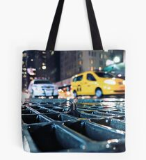 enough - times square Tote Bag