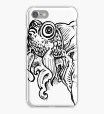 Goldfish - Boggly eyes and fins iPhone Case/Skin