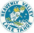 Heavenly Valley Lake Tahoe Vintage Travel Decal by hilda74