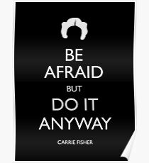 Be Afraid (Leia White) Poster