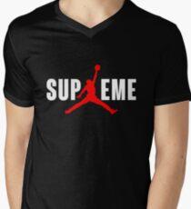Superme Men's V-Neck T-Shirt