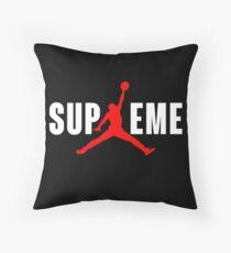 Superme Throw Pillow