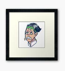 Rohan sticker Framed Print