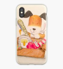 Childrens Classic kipper the dog iPhone Case