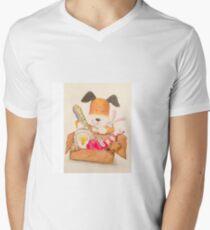 Childrens Classic kipper the dog Men's V-Neck T-Shirt