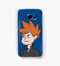 red n blu Samsung Galaxy Case/Skin