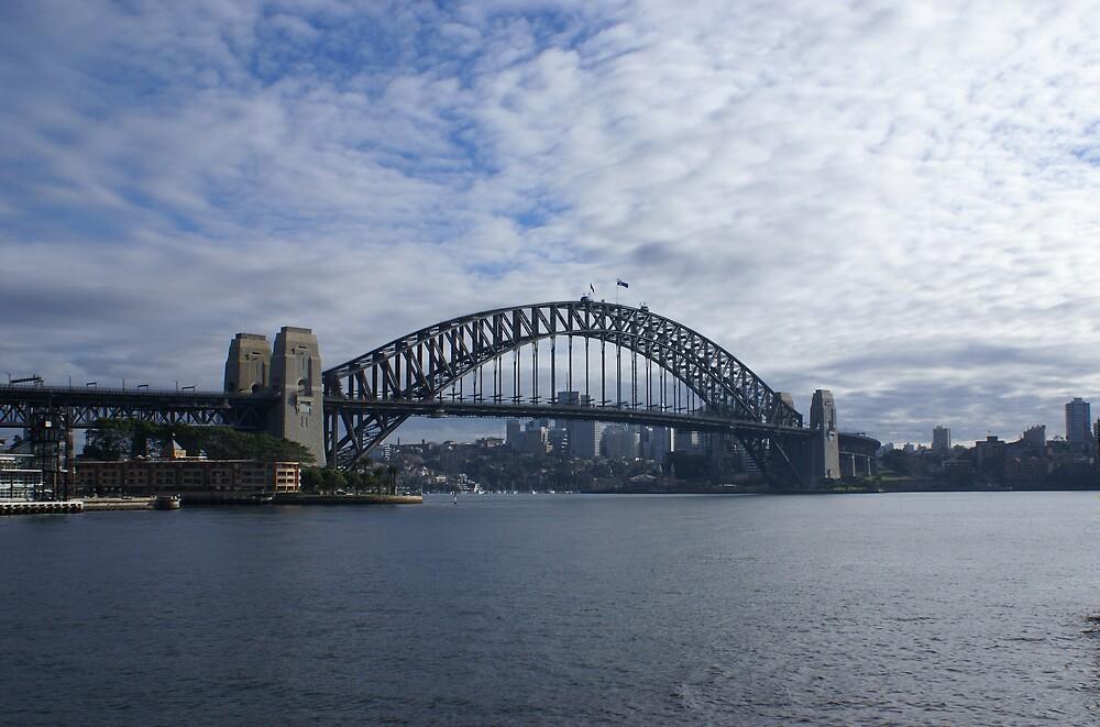 harbour bridge by simonsinclair