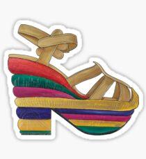 Shoe Design Sticker