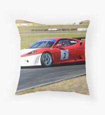 Ferarri F450 Throw Pillow