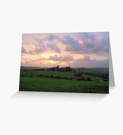 byron hills Greeting Card