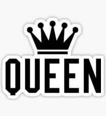 Seine und Ihre - Königin Sticker