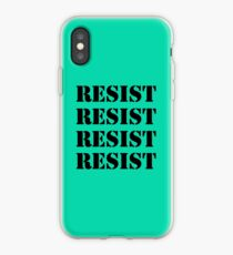 Resist x4 iPhone Case