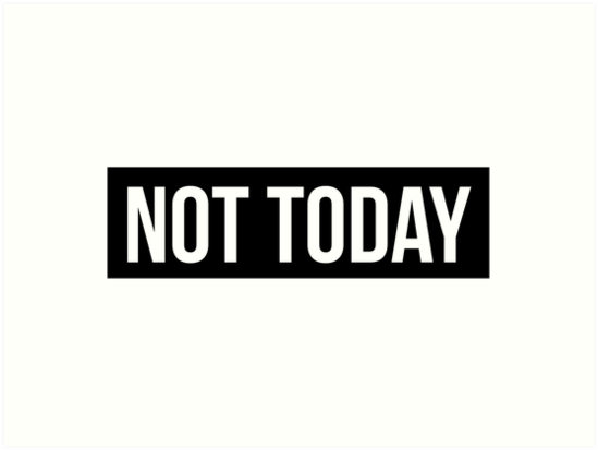 bts not today art prints by nurfzr redbubble