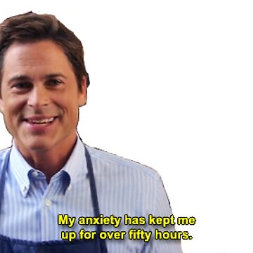 Chris Traeger's Anxiety by curegelato