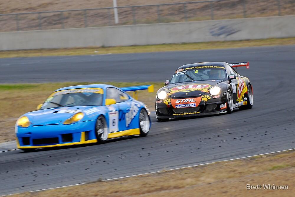 Chasing Porsche - Queensland 500 by Brett Whinnen