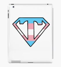 Transgender Superman logo iPad Case/Skin