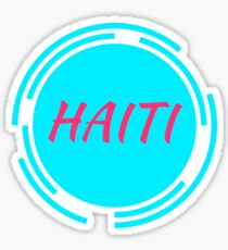 Haiti! Sticker
