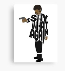Jules from Pulp Fiction Canvas Print