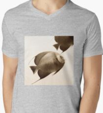 Grand Cayman Angels Mens V-Neck T-Shirt