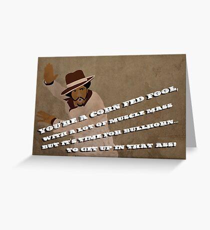 Bullhorn! Greeting Card