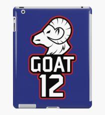 Goat 12 Brady iPad Case/Skin