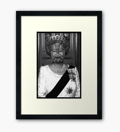 Queen Bane Framed Print