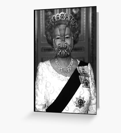 Queen Bane Greeting Card