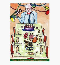 John Howard's Birthday Party  Photographic Print