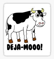Deja-Mooo! Sticker