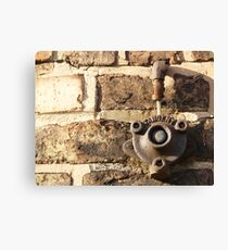 Decay: tangent Canvas Print