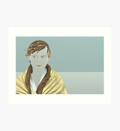 Sad Luke Art Print