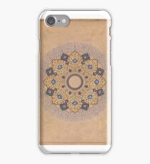 Rosette Bearing the Names and Titles of Shah Jahan iPhone Case/Skin