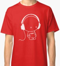 Cute Music Headphones T-Shirt Classic T-Shirt