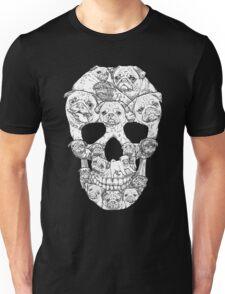 Pug Skull Unisex T-Shirt