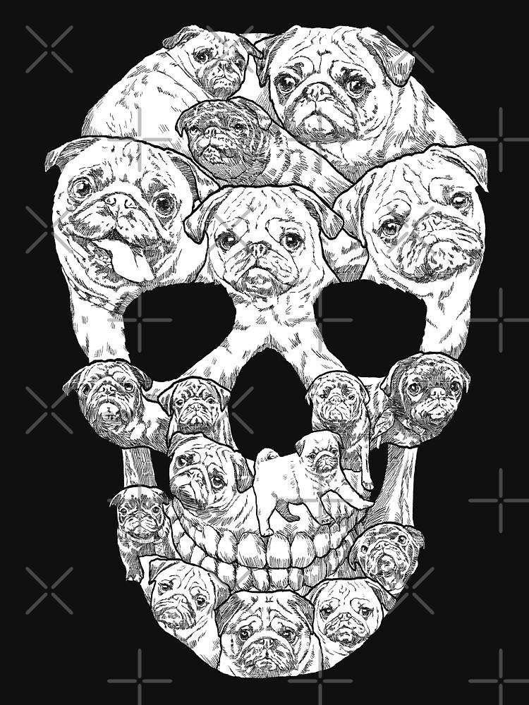 Pug Skull de designbydinny