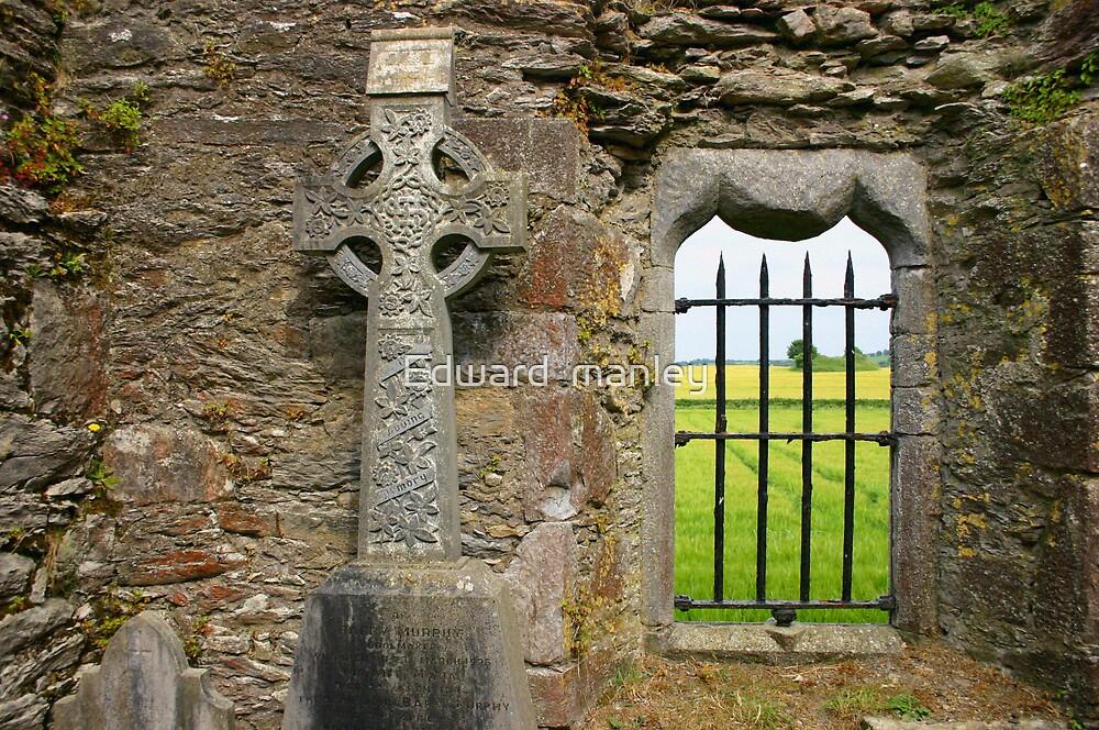 celtic cross by Edward  manley
