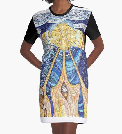 Lumen Gloriae Graphic T-Shirt Dress