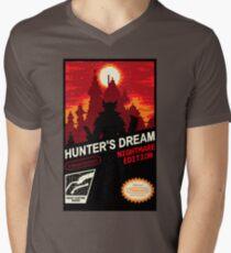 BLOODBORNE NES Men's V-Neck T-Shirt