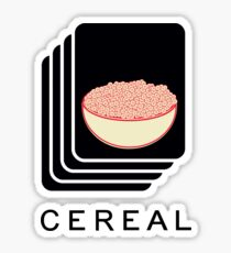 Cereal Sticker
