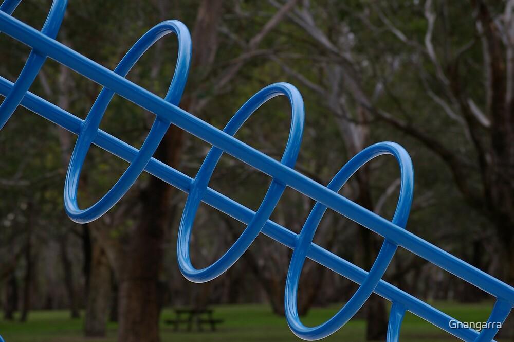Blue rings by Gnangarra