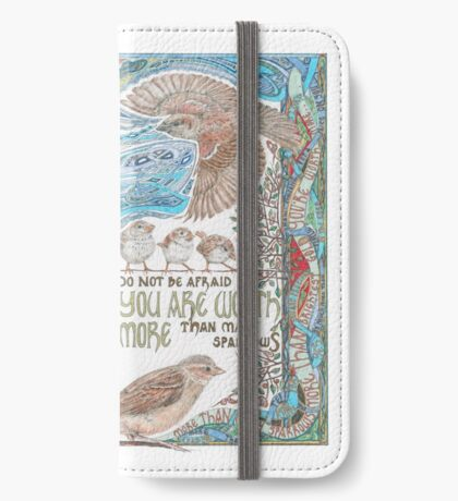 More than Many Sparrows iPhone Wallet