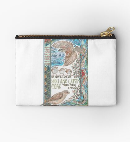 More than Many Sparrows Studio Pouch