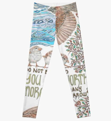 More than Many Sparrows Leggings