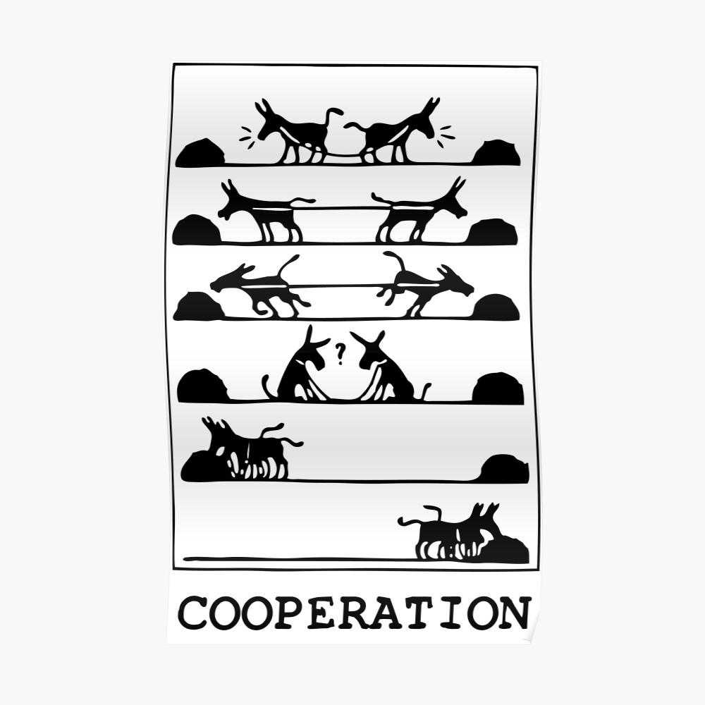 ¿Qué es la cooperación? Póster