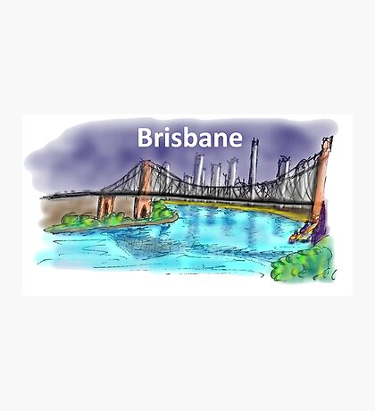 Brisbane Photographic Print