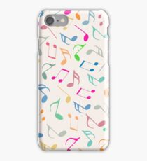 Music Colorful Notes II iPhone Case/Skin